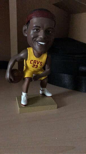 微品多新款篮球球星乔丹詹姆斯科比麦迪库里韦德公仔玩偶人偶模型礼盒送男友送篮球迷 新18cm詹姆斯 晒单图
