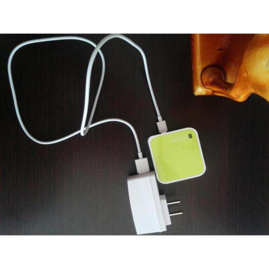 TP-LINK 【赠网线】 迷你路由器wifi信号放大器随身中继器出差旅行便携式 无线路由器 WR703N-150M(可插网卡使用-3G) 晒单图