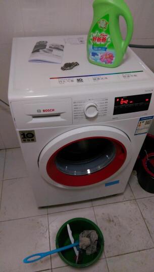 博世(BOSCH) 8公斤 变频 滚筒洗衣机 15分钟快洗 低噪音 除菌液程序(白色)WAP242C08W 晒单图