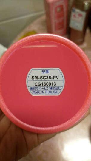 日本进口象印(ZOJIRUSHI)儿童保温桶学生食物罐 真空焖烧罐 男女不锈钢保温桶/壶 SW-HB45-NL 450ML香槟色 晒单图