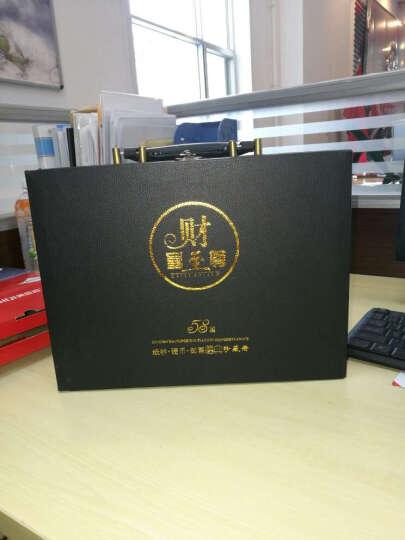 聚优尚 外国钱币纸币硬币邮票礼盒收藏册套装 58国高档皮箱收藏册 晒单图
