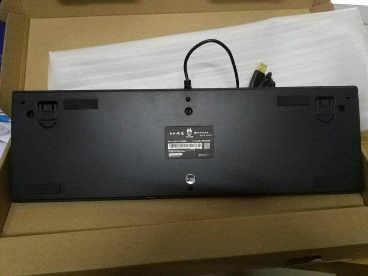 本手(basic)键盘V6机械键盘全黑 104键 樱桃黑轴 绝地求生吃鸡利器 晒单图