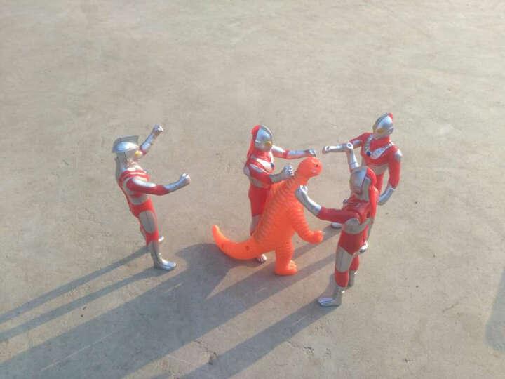 咸蛋超人(ULTRAMAN) 奥特曼玩具 儿童超人战士对战怪兽套装玩具 单只装(奥特曼泰罗-32厘米带声光) 晒单图