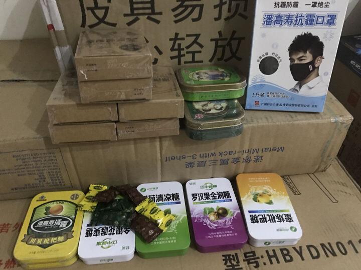 潘高寿 润喉糖 川贝枇杷糖 清咽利喉 不含蔗糖 (五盒装)26.4g*5 五盒装 晒单图