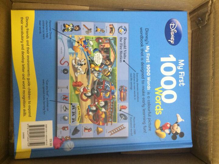 英文原版绘本 Disney My First 1000 Words 儿童英语图解词典2册 晒单图
