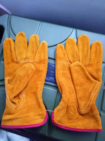 康友 (KPRO)电焊手套 牛二层司机手套 防护手套 工作劳保 5019 XXL 晒单图