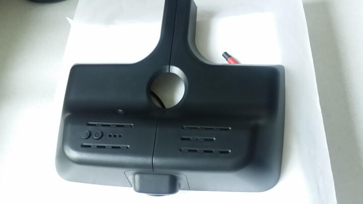 保速捷M5隐藏式行车记录仪高清夜视云电子狗测速APP网络远程监控一体机 宝马1系3系5系7系X1X3X4X5X6 mini 单镜头+带云电子狗+微信监控定位 晒单图