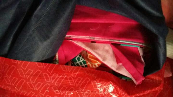 维秋 全棉磨毛四件套纯棉加厚保暖大红结婚庆床上用品套件 情愫 2米床(适合被芯220*240) 晒单图