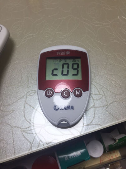 华益精点 安益康家用型血糖仪,调码后检测监测血糖准确 血糖仪+50瓶装试纸+采血笔++消毒棉片50片 晒单图