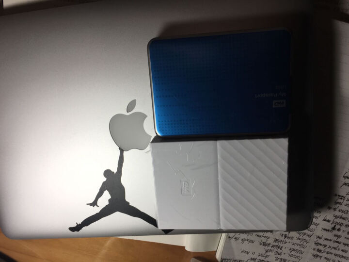 西部数据(WD)My Passport 2TB 2.5英寸 闪耀白 硬件加密 移动硬盘 WDBYFT0020BWT 晒单图