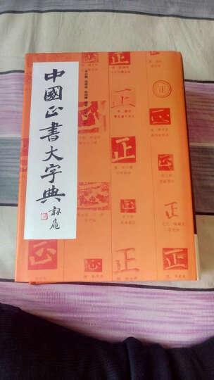 中国正书大字典 晒单图
