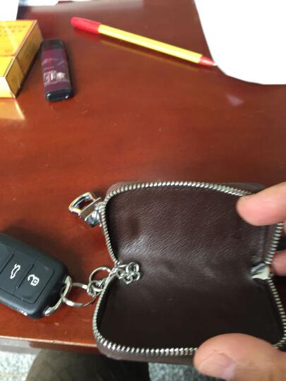 有车以后 汽车钥匙包 男士牛皮腰挂钥匙扣 时尚车锁匙包腰匙包生日礼物 男友礼品钥匙包 骑士棕 晒单图
