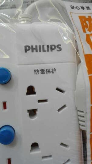 飞利浦(PHILIPS)SPS1530C/93 5位3米插座 过载保护 独立开关 适用1P空调电视插排插线板/接线板/拖线板 晒单图