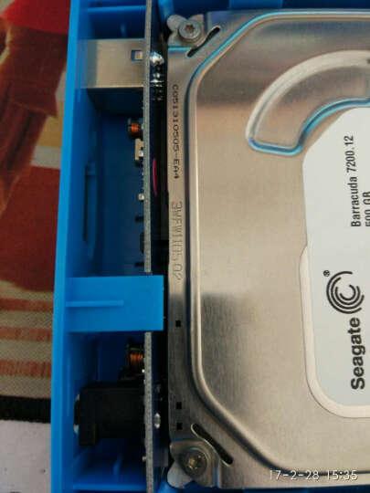IT-CEO L-803 3.5英寸USB3.1/Type-C移动硬盘盒外置盒子 2.5/3.5英寸SATA/SSD固态硬盘底座 黑 晒单图