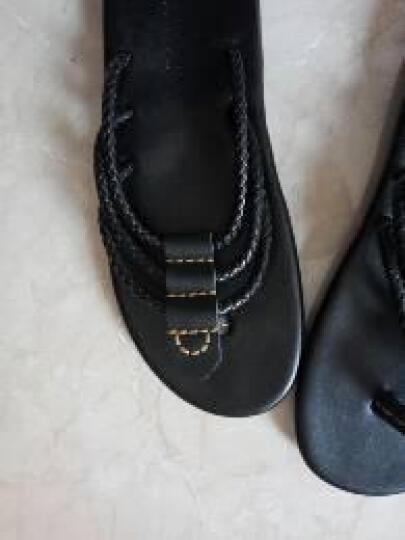 泰潮(taichao) 大码拖鞋春夏季男士人字拖潮男韩版防滑凉拖鞋 黑色 41 晒单图