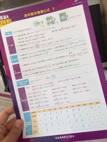 2017B版专项测试 英语 5年高考3年模拟(天津适用)/五年高考三年模拟 曲一线科学备考 晒单图
