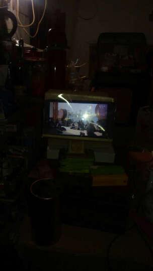 MOOV 手机屏幕放大器 高清视频放大镜神器 迷你手机投影仪 桌面懒人手机支架通用 折叠版玫红色 晒单图
