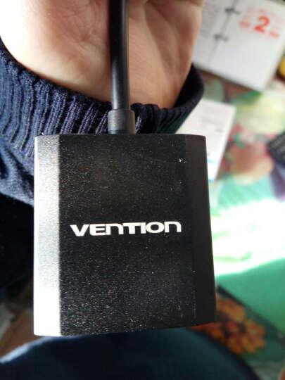 威迅(VENTION)ACEBF VGA转HDMI线转换器带音频接口 高清视频转换线 笔记本电脑连接电视投影仪线 1米 黑 晒单图
