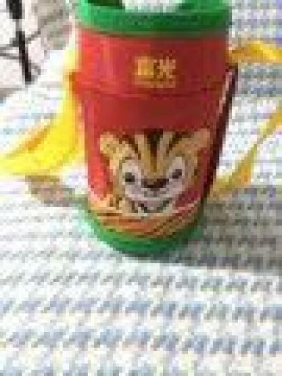 富光保温杯 儿童水杯吸管杯男女宝宝小孩水壶婴儿学生茶水杯子可爱便携防漏刻字一杯双盖送杯套 红色(小虎贝贝) 晒单图