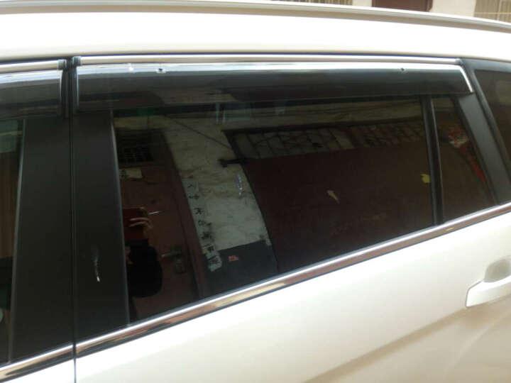 金科 福特新福克斯福睿斯晴雨挡翼虎翼博锐界嘉年华车窗雨眉挡雨板 远景X6 晒单图