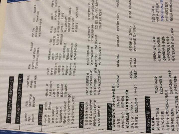刑事诉讼法练习题集(第四版)(21世纪法学系列教材配套辅导用书) 晒单图