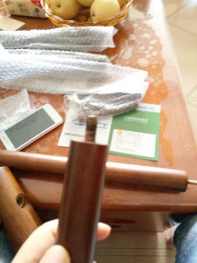 栩赫卧室创意衣帽架挂衣架落地全实木欧式简约现代 实木衣架客厅家用美式简易 衣服架子 胡桃色-三角架 晒单图