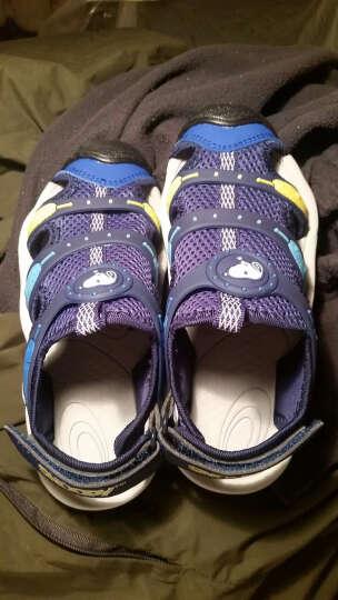 史努比 SNOOPY 男童凉鞋 包头沙滩凉鞋 S7125827深兰29码 晒单图