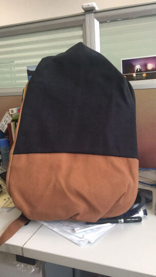 法国cote&ciel高迪斯奥Isar TwinTouch拼色双肩背包筆记本电脑包旅行包 深蓝-牛仔深蓝-28380 15寸 晒单图