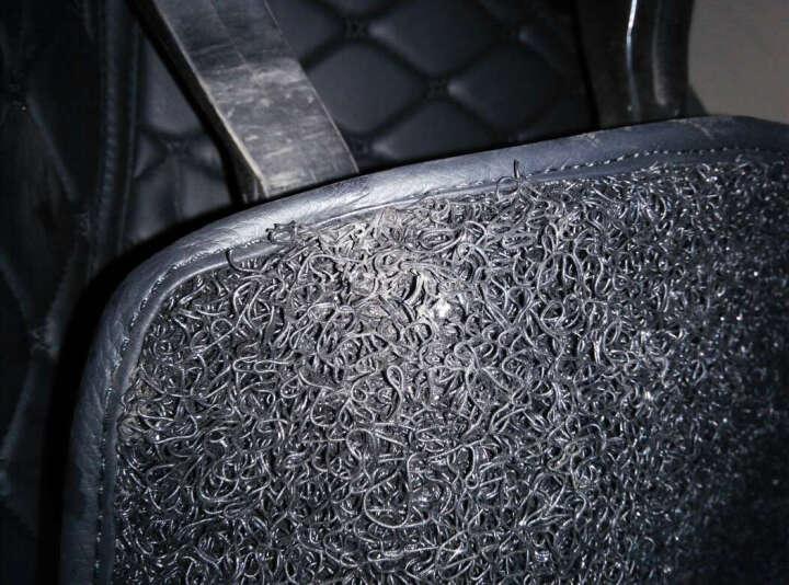 恒卡 订制全包围丝圈汽车脚垫专用于奥迪A4L宝马3系奔驰E级金牛座凯迪拉克ATS博瑞君越阿特兹 黑色红线+红色 晒单图