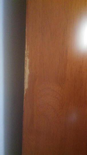 卡菲丽 全实木电视柜酒柜组合柜 中式电视墙柜厅柜柜带储物空间边柜挂板 梨木色 晒单图