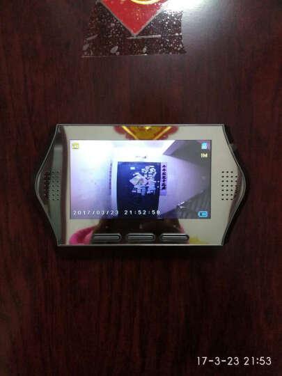 朗瑞特4.3英寸可视门铃家用智能电子猫眼 升级版+8G内存卡 晒单图