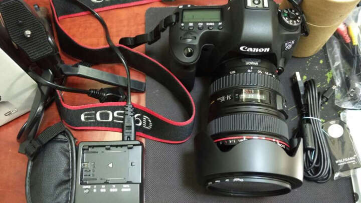 佳能(Canon)EOS 6D 全画幅单反相机/照相机 佳能 24-70mmF4L IS镜头套装 晒单图