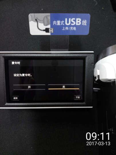 索尼(SONY)HDR-CX680 高清数码摄像机 5轴防抖 30倍光学变焦(白色) 家用DV/摄影/录像 晒单图