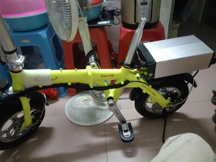 JR 折叠电动自行车锂电池电动车短距离代步车代驾专用车续航小于120公里 续航30公里 晒单图