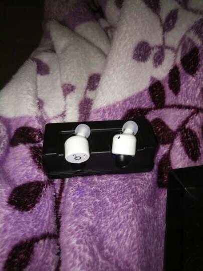 迪诺特 XT1 无线蓝牙耳机双耳迷你隐形耳机情侣4.1立体声适用于iPhone华为oppo XT1白色带充电仓 晒单图