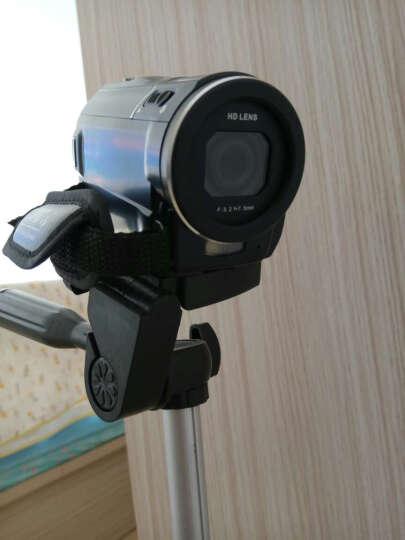 欧达 F5全景像全高清摄像机数码闪存dv外挂电池专业摄录双重增强五轴防抖2400万像素 标配+32G卡+电池+三脚架送大礼包 晒单图
