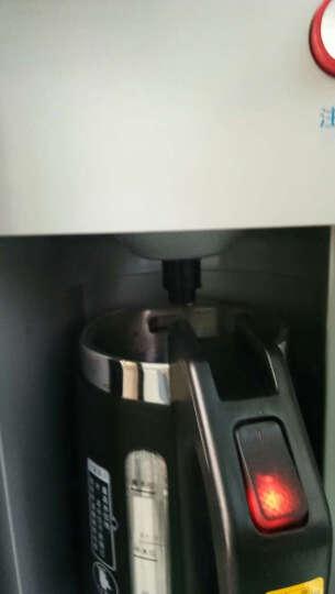 菊花609F饮水机立式家用外置水壶沸腾胆极速加热冰温热制冷制热带夜光灯消毒 【普通款】玫瑰金冰温热 晒单图