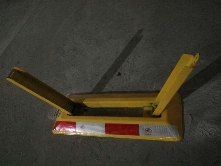西力特车位锁地锁汽车手动停车占位锁加厚防撞防压挡车器 8吨抗压加强版+螺栓 晒单图