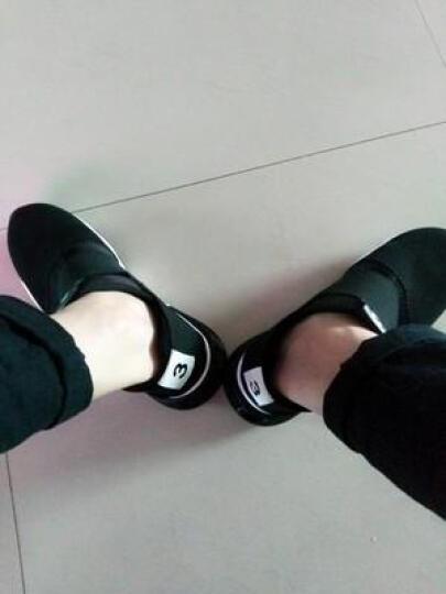 KSD 春季男鞋休闲鞋男韩版男士板鞋时尚潮鞋潮流鞋子男透气网布网鞋夏季 SML-1Y11-黑白色 42 晒单图