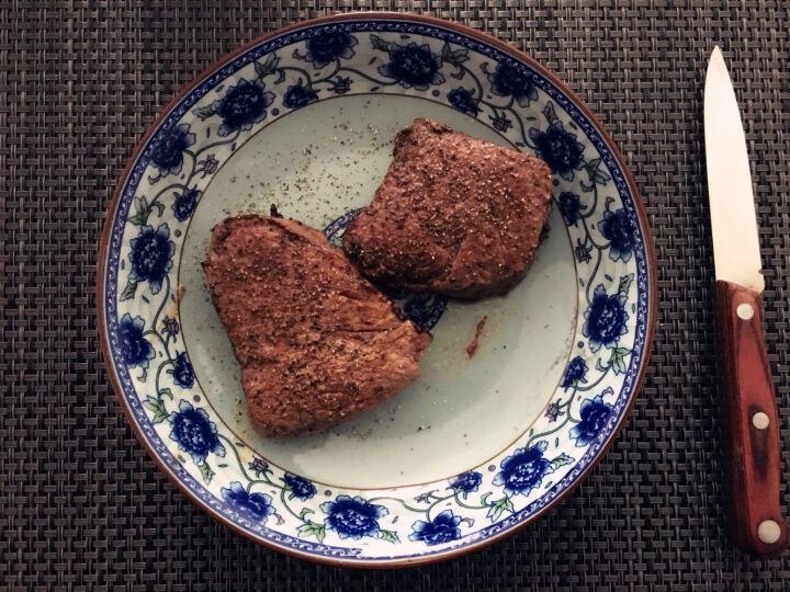 肉管家 澳洲原装进口眼肉牛排820g/3包装 原切冷冻黑安格斯谷饲新鲜 晒单图