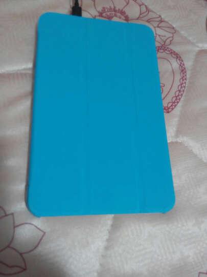 喜门红  保护套皮套保护壳适用于联想A3000/A3000H/A5000E 7英寸平板电脑 轻薄三折系列 白色 晒单图