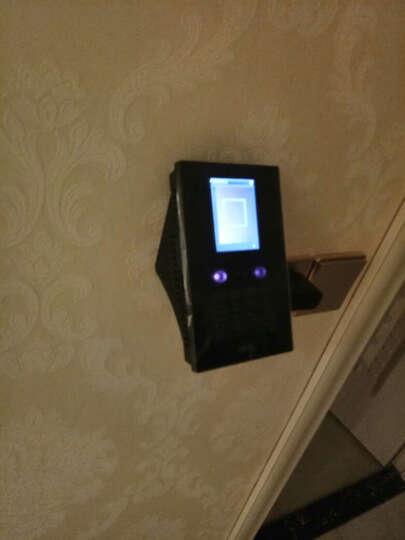 中控智慧(ZKTeco) EF200打卡机人脸识别考勤机 纯面部 刷脸上班签到 标配 晒单图