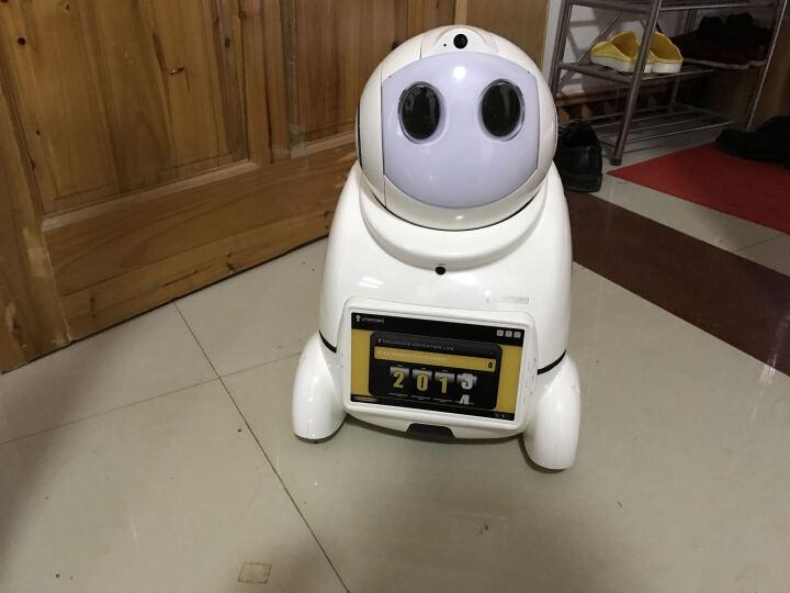 爱乐优智能早教机器人 儿童故事学习机器人小优声控第三代 远程监控家庭亲子教育陪伴玩具 小优U03s-白色 晒单图