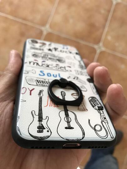 三壳演义 【送数据线+膜】苹果7手机壳保护套防摔硅胶全包 适用iPhone7/7Plus 7Plus小黑板【支架】 晒单图