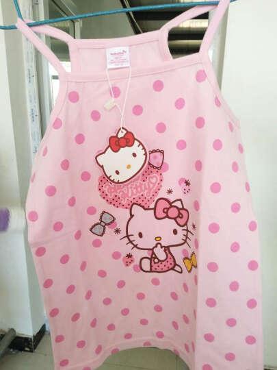 凯蒂猫(HELLO KITTY)儿童吊带背心女童宝宝小孩童装打底衫吊带小背心 KT5189 白色 140cm 晒单图