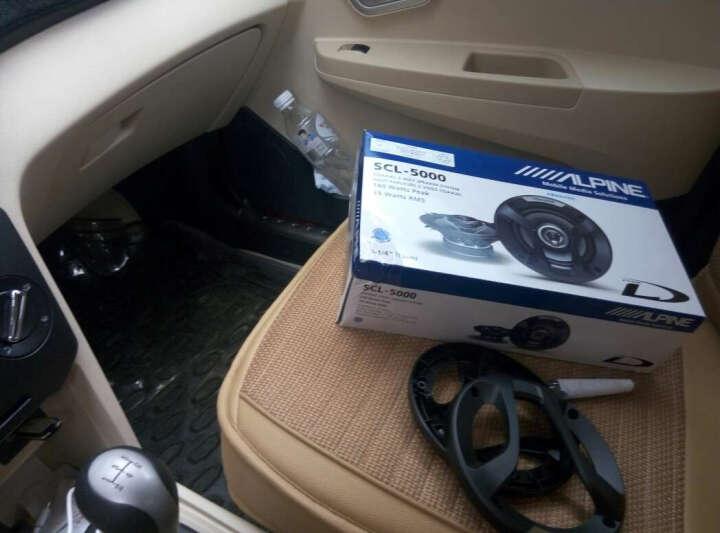 阿尔派5寸/5.25寸SCL-5000 喇叭同轴2路喇叭 车载扬声器  汽车喇叭 晒单图