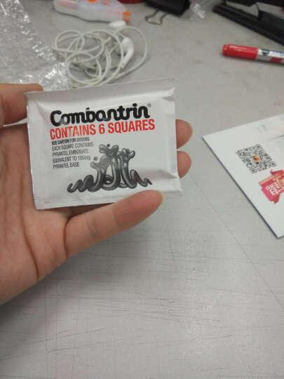 新西兰Combantrin宝宝儿童成人驱虫巧克力打虫药蛔虫 一小包6小块 晒单图