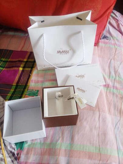 MyMiss 十二生肖戒指 女食指开口 925银镀铂金指环 情人节礼物 情侣送礼 银饰品 虎 晒单图