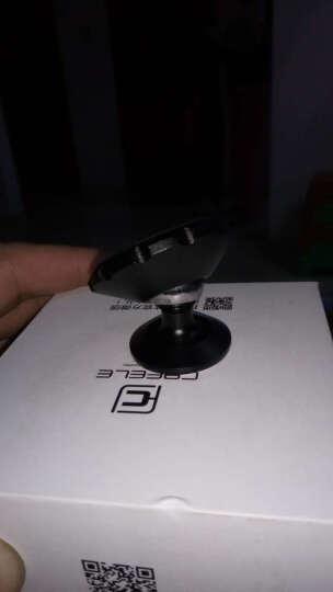卡雯乐 磁性车载手机支架 多功能汽车手机架 手机座磁铁通用创意支架 粘贴式 炫酷黑 晒单图