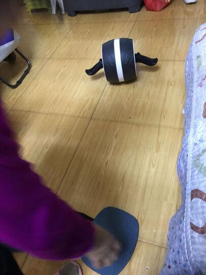 若赛(Ruosai) 健腹轮巨轮腹肌轮收腹滚轮健腹器静音健身俯卧撑轮 白色黑皮 晒单图